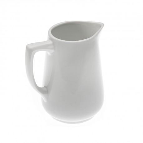 Vajilla jarra leche blanca suministros bohemia for Jarra leche
