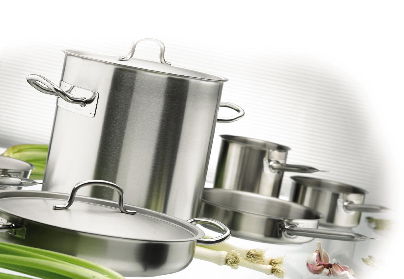 Bateria profesional suministros bohemia for Bateria cocina profesional